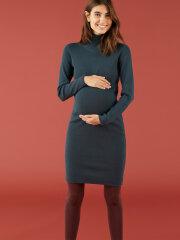 Mamalicious - Jacina knit rollneck dress