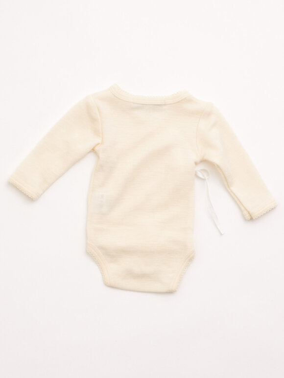 Lilli & Leopold - Baby kimono body - nature