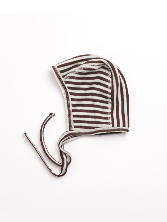 Lilli & Leopold - Baby bonnet - stripes