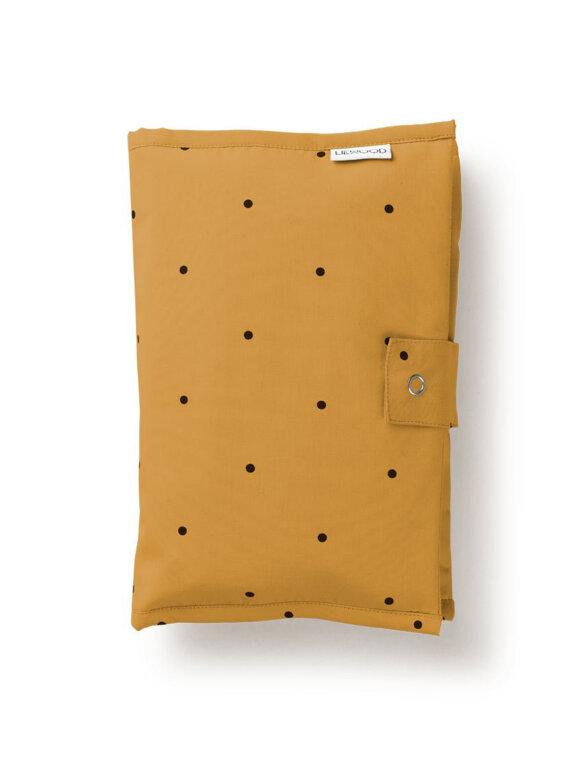 Liewood - Liv baby clutch - dot mustard