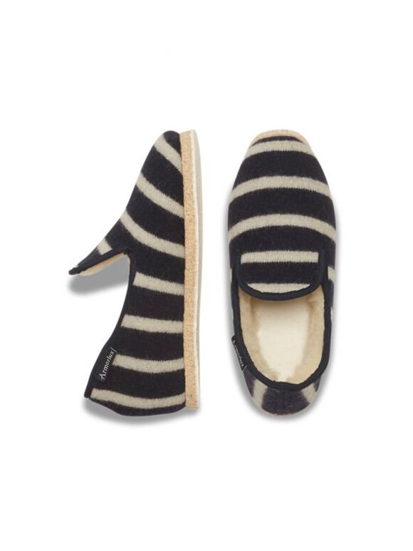 Armor Lux - Striped slippers