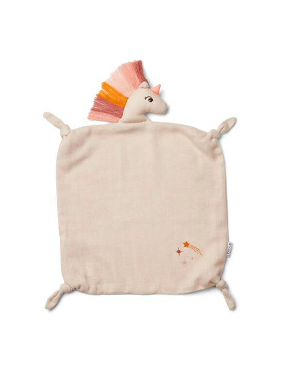 Liewood - AGNETE CUDDLE CLOTH - Unicorn Sandy