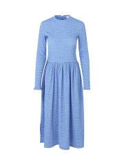 Mads Nørgaard - Flexi Pop Docca kjole, Blue/white