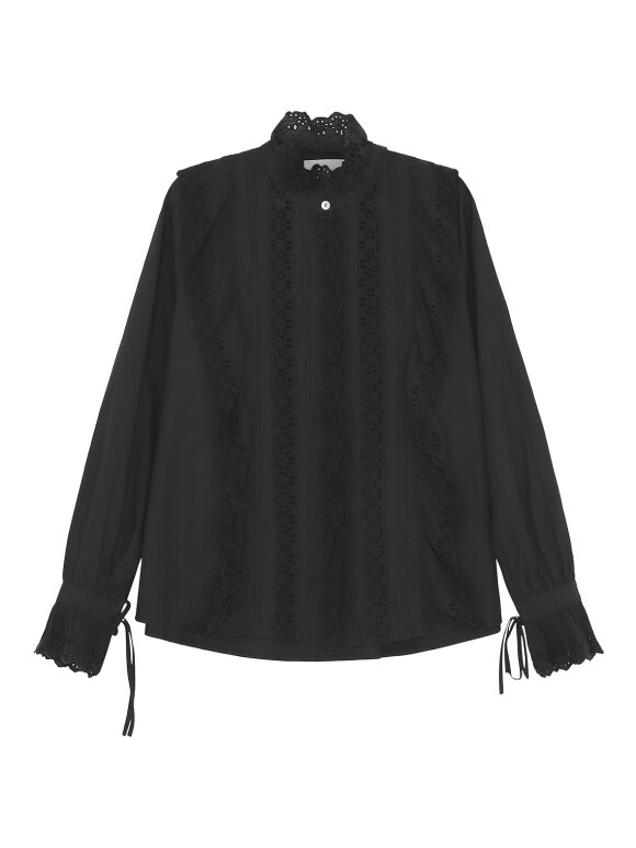 Skall Studio - Iris shirt, sort