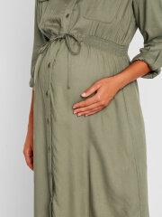 Mamalicious - Malin Woven midi shirt dress