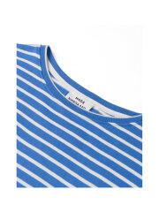 Mads Nørgaard - Bretagne Organic Thilke bluse, Blue/Ecru