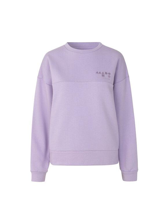 Mads Nørgaard - Eco Sweatshirt Tilvo , Bright Purple