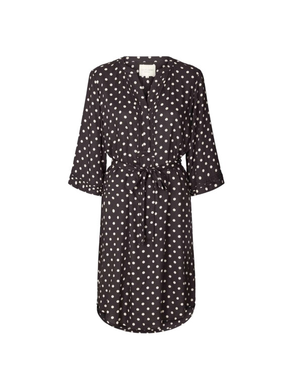Lollys Laundry - Jade dress - Washed Black