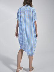 Kokoon - Eliza shirt dress - blue check