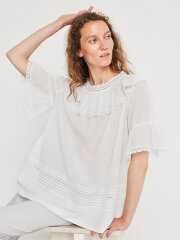 Skall Studio - Meadow lace tee