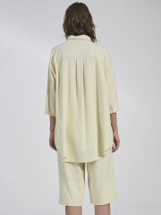 Kokoon - Bianca ss shirt - lemon