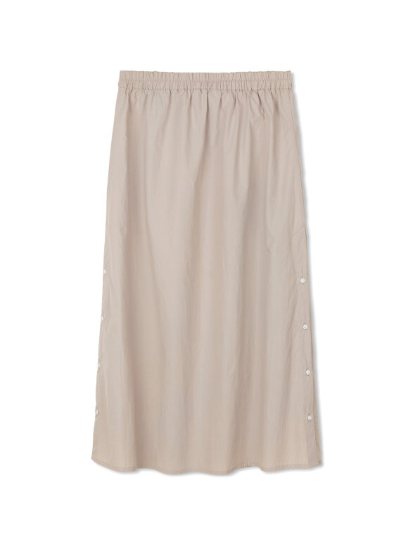 AIAYU - Nova Poplin nederdel - Beige