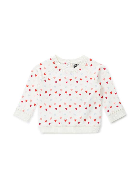 Bonton - Baby Sweatshirt - Hjerter