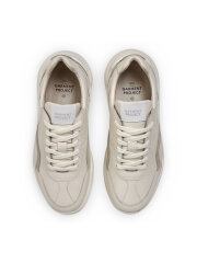 Garment Project - Bank - off white leather