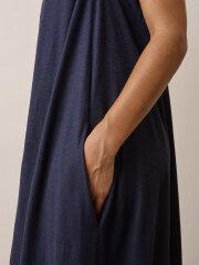 Boob - Air halterneck dress - Midnight Blue