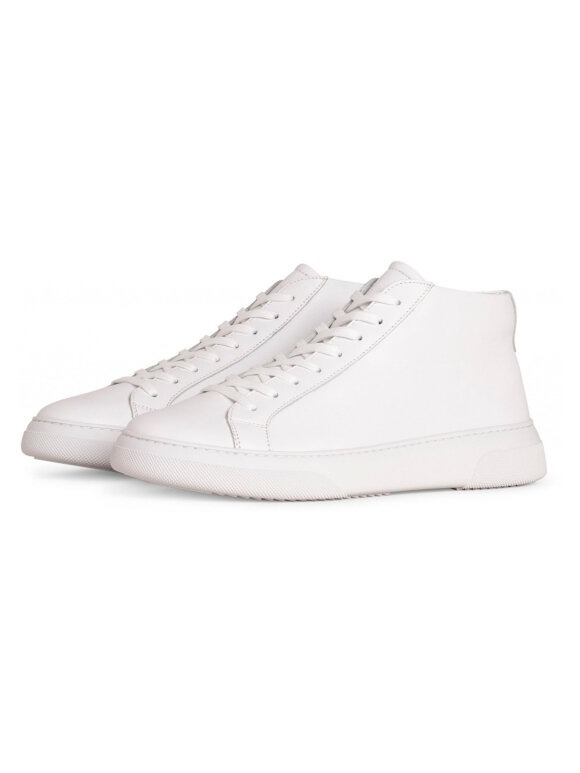 Garment Project - Type mid sneakers - white leather