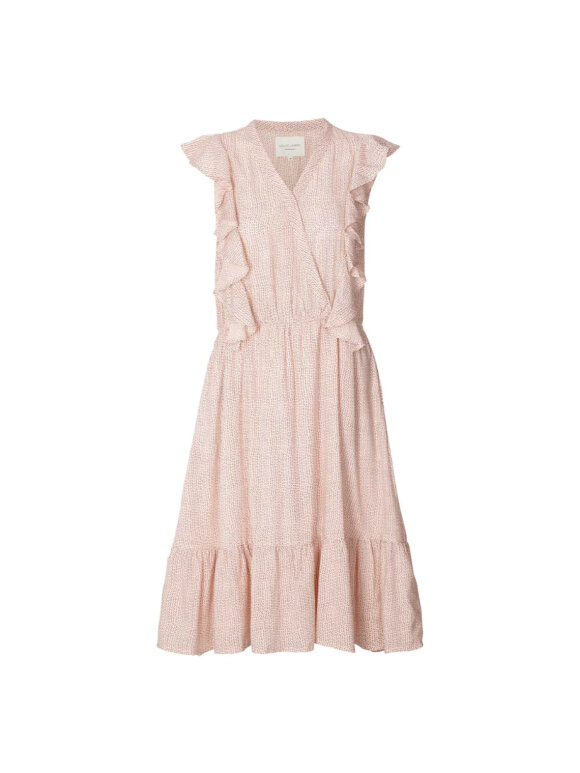 Lollys Laundry - Ramona Dress - blush Dot Print