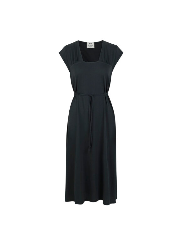 Mads Nørgaard - Jersey Dody kjole, Dark Charcoal