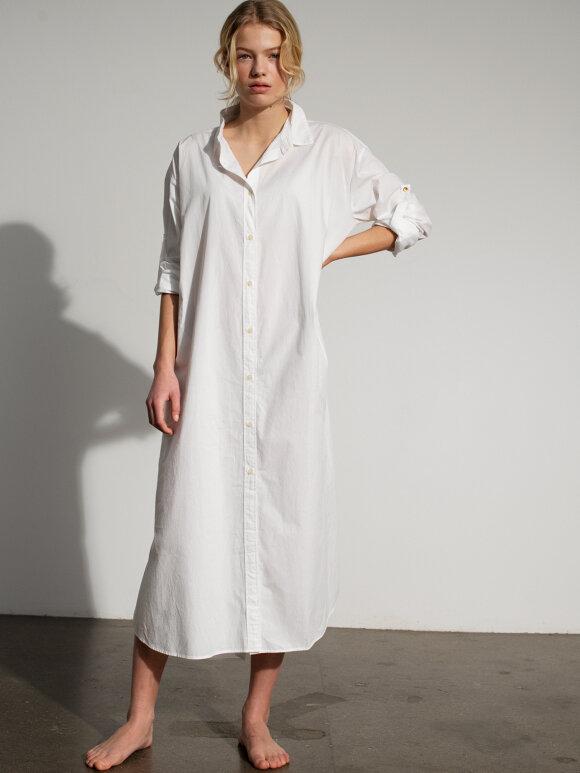 AIAYU - Shirt robe - White