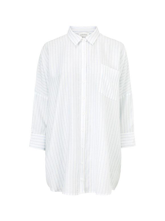 Kokoon - Bianca Shirt - Light Blue stripe