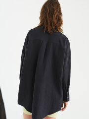 Kokoon - Mandarin shirt - Navy
