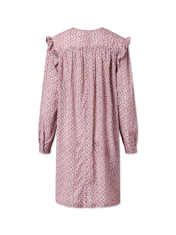 Nué Notes - Satine Dress - Lilac Marble PF20