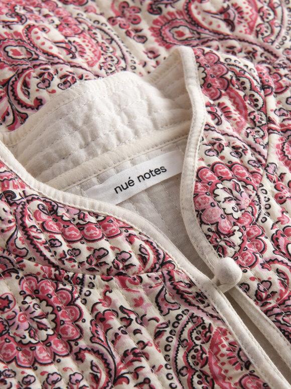 Nué Notes - Paloma jacket pink paisley PF20