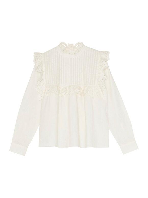 Skall Studio - Holly blouse, Light cream