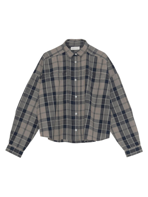 Skall Studio - Karen shirt, Brown check