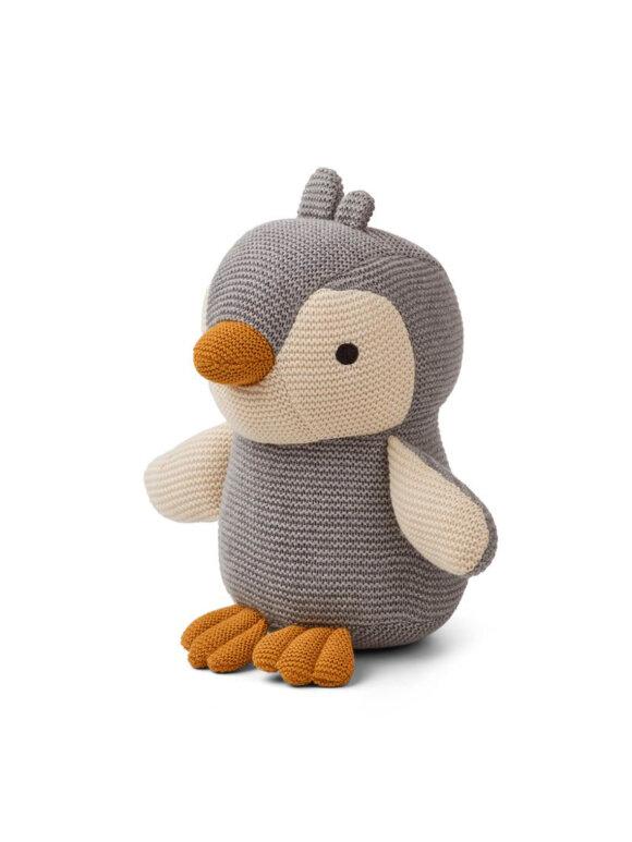 Liewood - Pearl pingvin - Penguin grey melange
