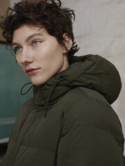 Mads Nørgaard - Recycle Jolene coat, Forest Night