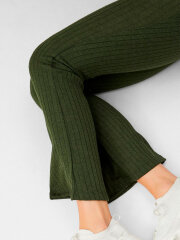 Mamalicious - Skywen Flared Pant, Grøn