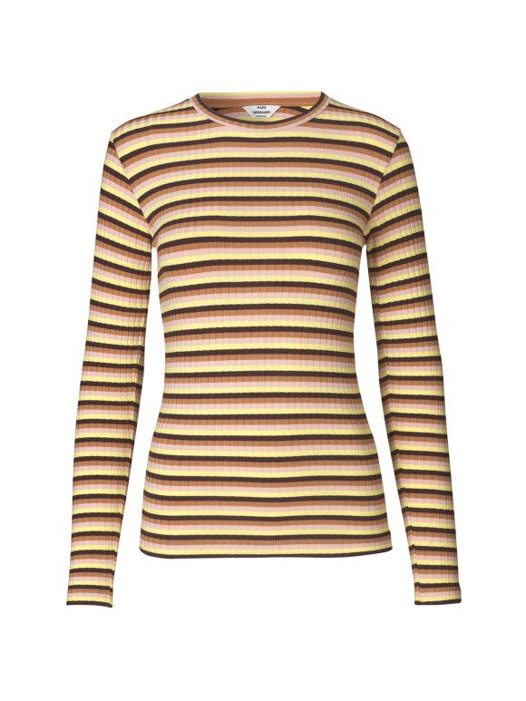 Mads Nørgaard - 5x5 Eco Stripe Tuba bluse stripe