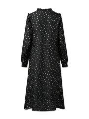 Nué Notes - Vanella Dress, black flowers