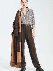 Kokoon - Bianca LS Shirt - Brown Stripe