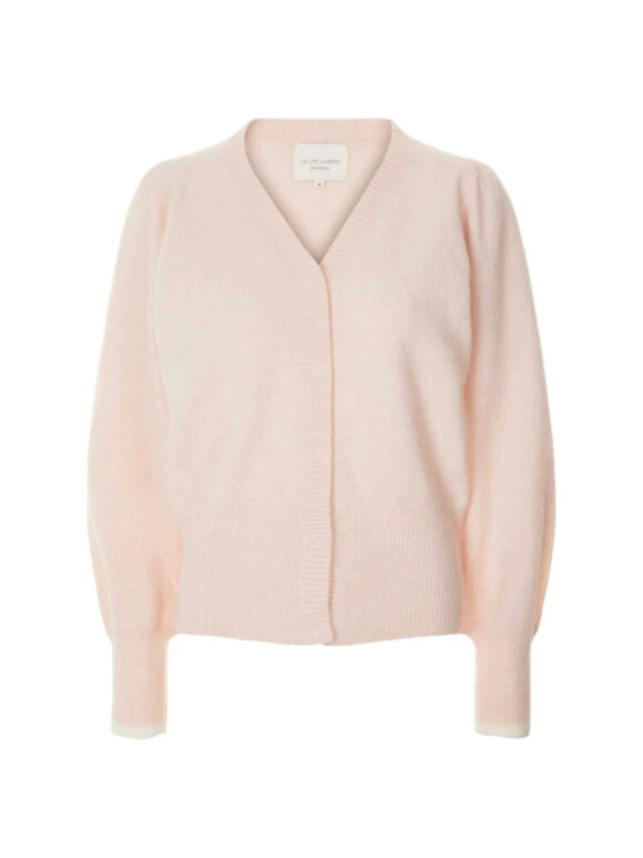 Lollys Laundry - Laura Cardigan, Baby Pink