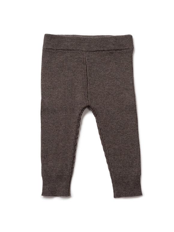 Bonton - Baby leggings, Biscuit brown