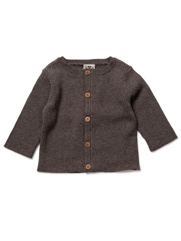 Bonton - Cardigan baby - Biscuit brown