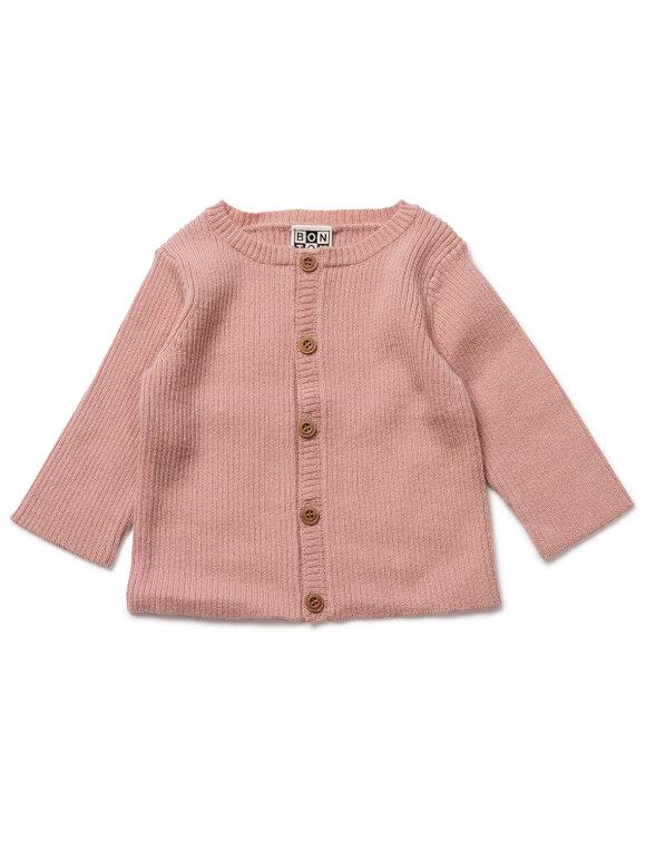 Bonton - Cardigan baby - Velvet rose