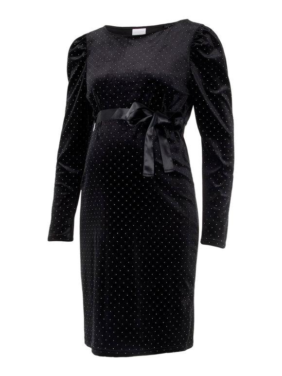 Mamalicious - Doreen velour fest kjole