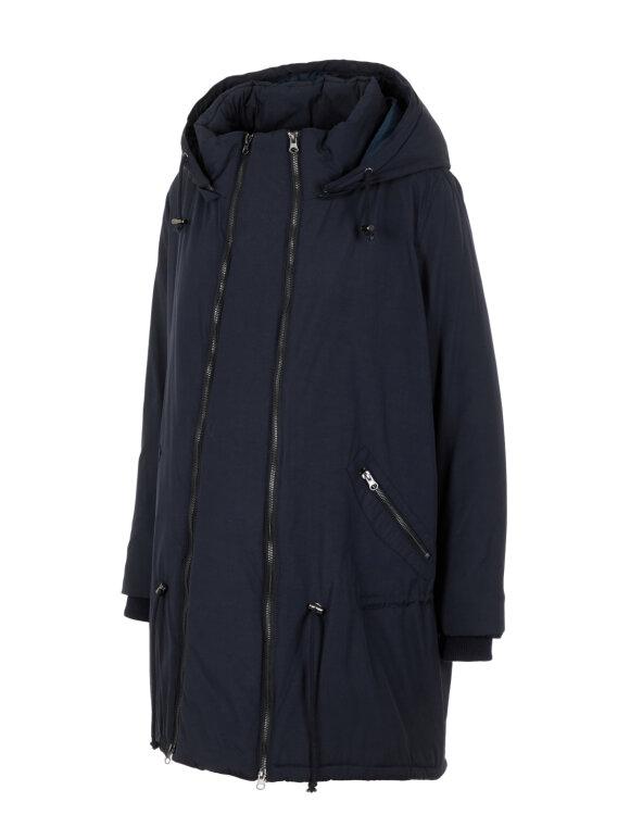 Mamalicious - 2-i-1 Maddy vinter jakke - sort