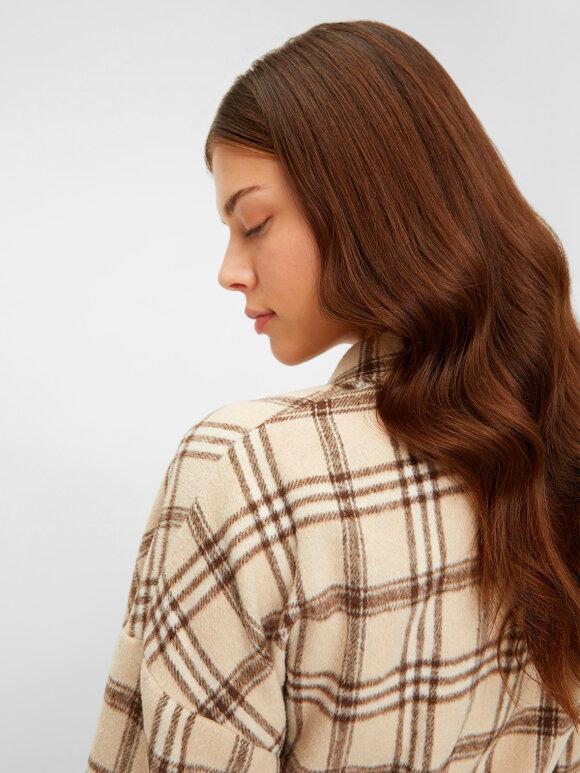 Mamalicious - Dina Woven Shacket skjorte