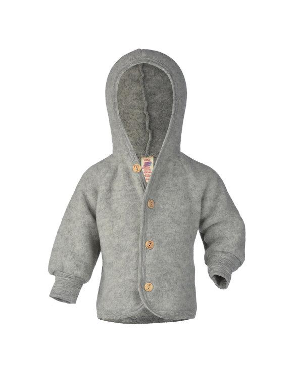 Engel - Uld fleece jakke, 2 farver