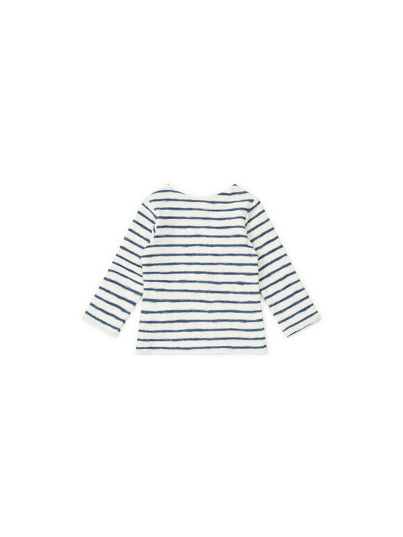 Bonton - Stribet babybluse - 2 farvevarianter