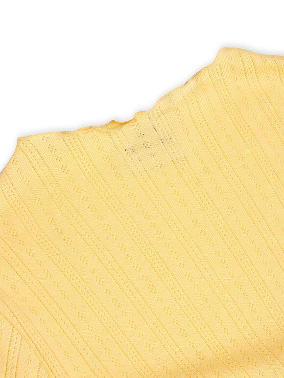 Mads Nørgaard - Pointella Trutte bluse - Pale Banana