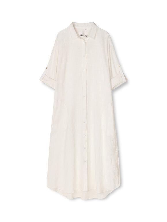 AIAYU - Shirt Robe Crepe