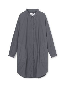 AIAYU - Shirt Dress, Hunter