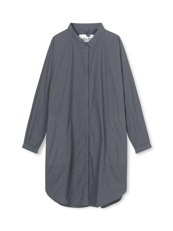 AIAYU - Shirt Dress, Hunter
