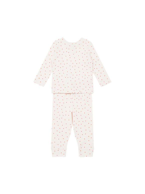Bonton - Babysæt med hjerter - 2 farvevarianter