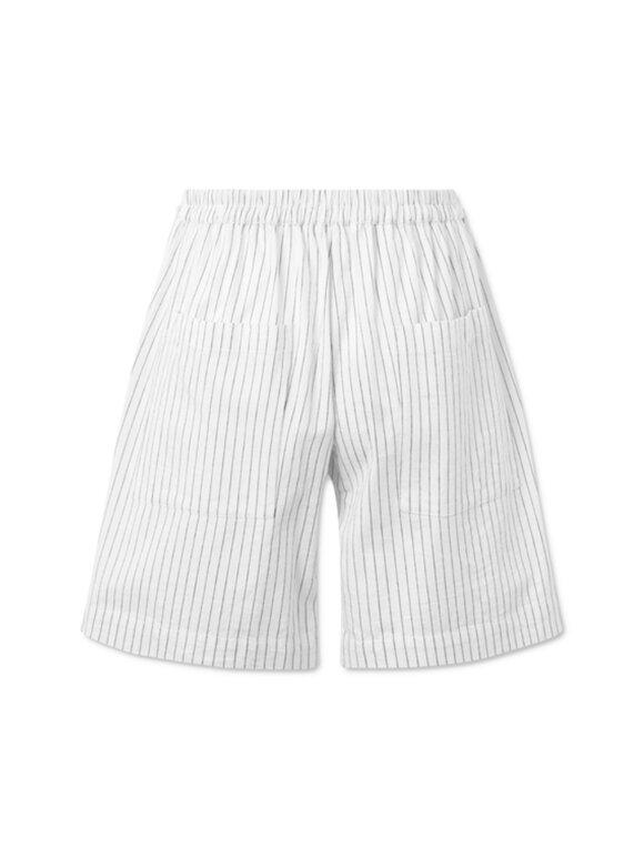 Nué Notes - Juliana Shorts - White Stripe